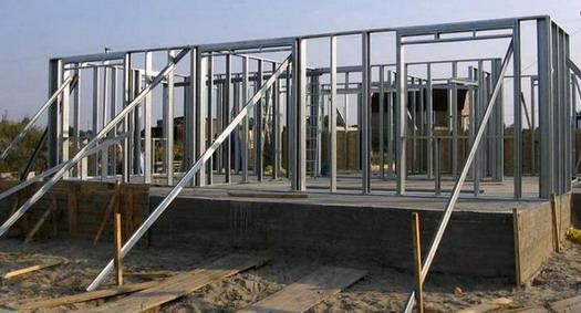 Этапы строительства каркасного гаража из профильных труб