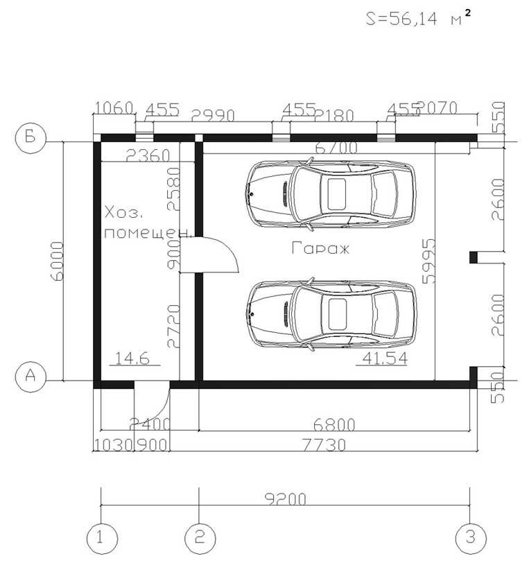 Расчет стоимости строительства гаража из пеноблоков своими руками
