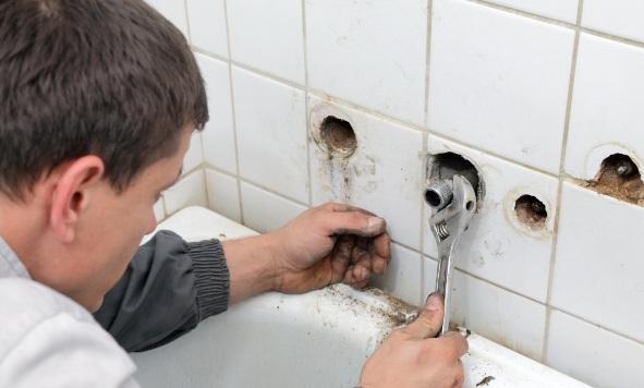 Подготовка ванной комнаты