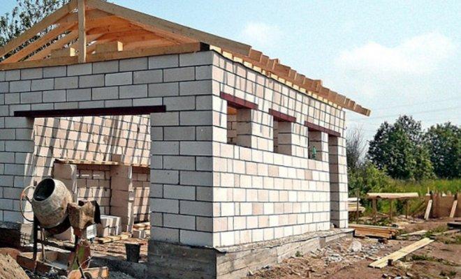 Как построить дешевый гараж своими руками 11
