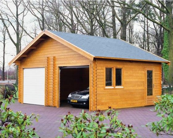 Поэтапное возведение гаража из бруса