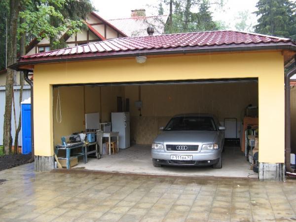 Строительство гаража из сип-панелей своими руками