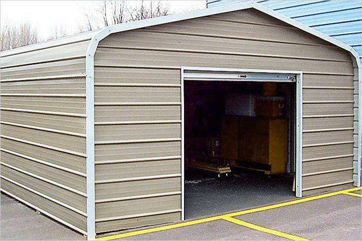 Как построить дешевый гараж своими руками 89
