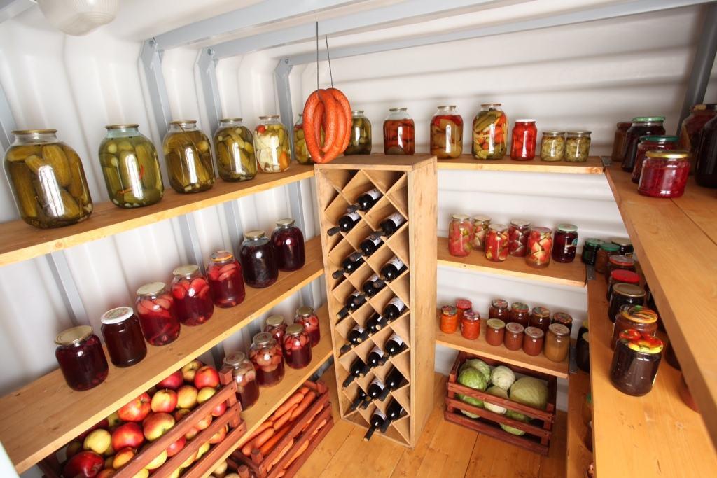 подпол в частном доме для хранения овощей