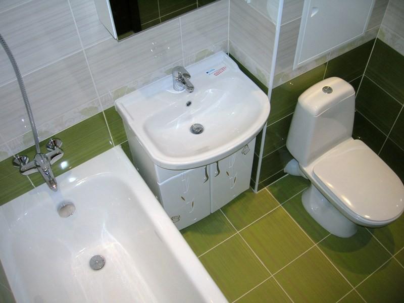 Отделочные работы в туалете