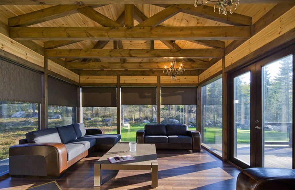 Технология строительства дома Timber frame