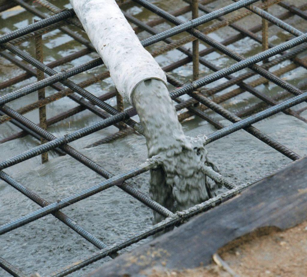 Стадия третья – бетон и заливка