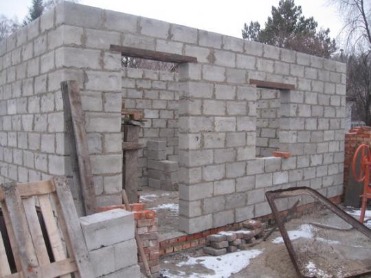 Постройка стен
