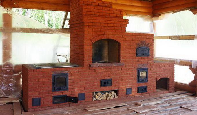 Как построить барбекю из кирпича своими руками фото 492
