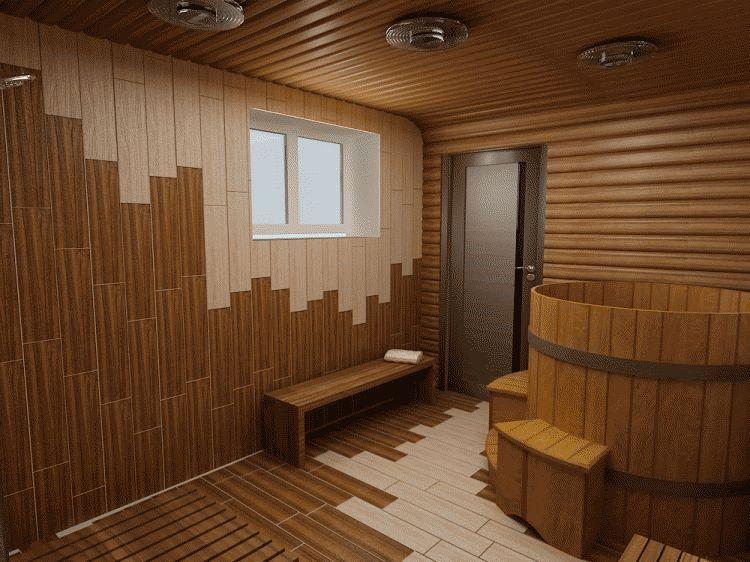 Внутренняя отделка моечной комнаты