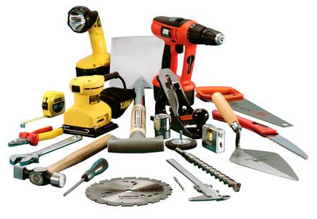 Инструменты, которые понадобятся для возведения сарая: