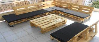 Как делается деревянная мебель для дачи своими руками из поддонов