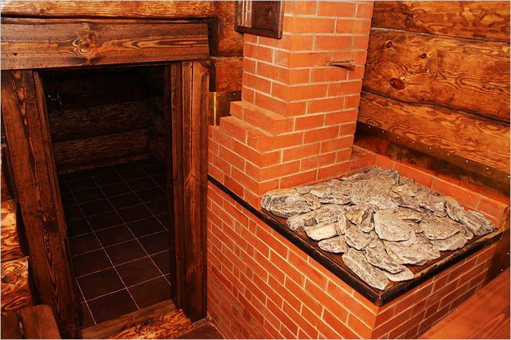 Чем хорош кирпич для постройки банных печей