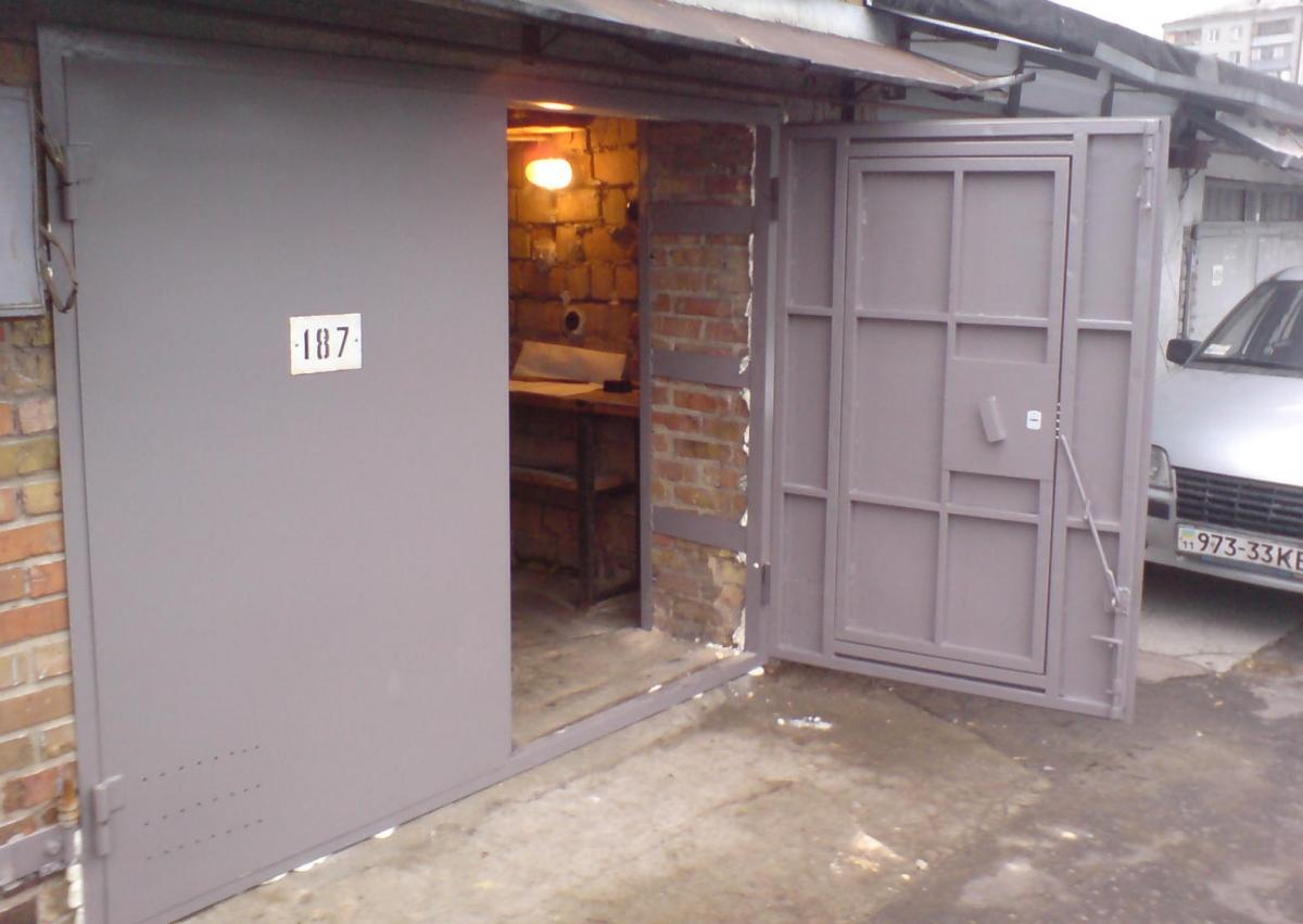 гаражных ворот фото
