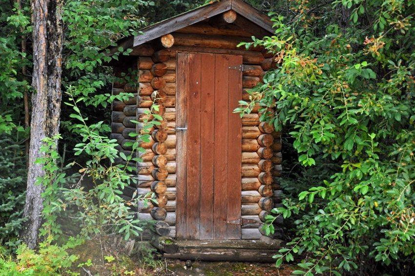 Выполнение надземной части из древесины