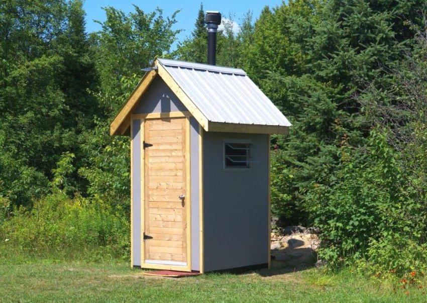 Туалет для дачи без выгребной ямы