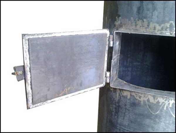 Дверка зольника.