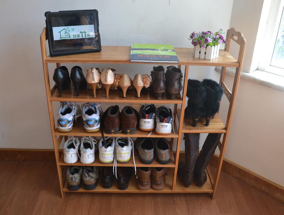 Стандартная конструкция полки для обуви