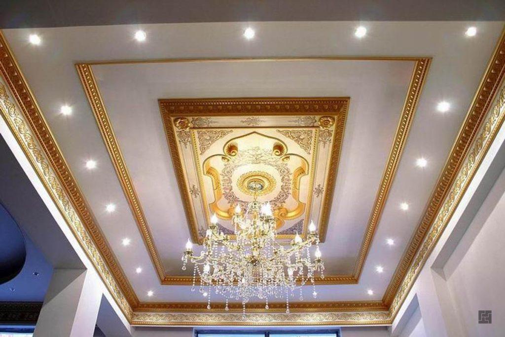 Другие варианты потолочного декора