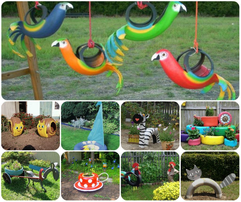 Идеи детских площадок