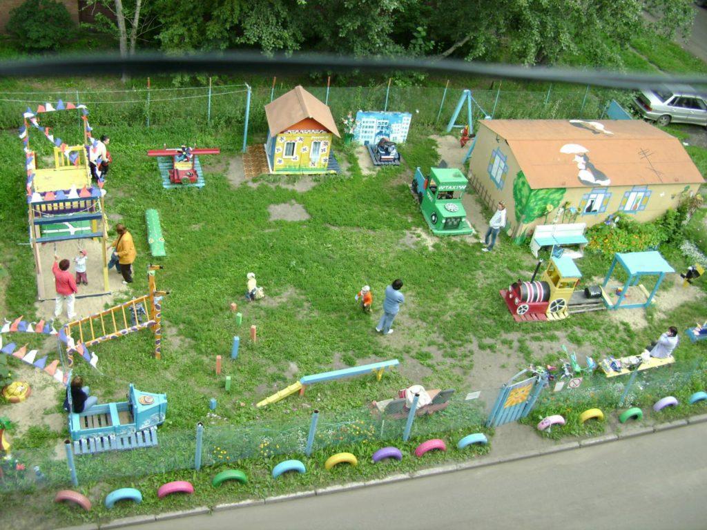 Плюсы детских площадок