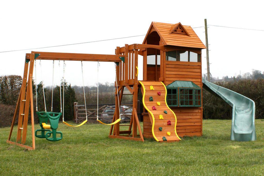 Правила сооружения и размещения объектов на детских площадках