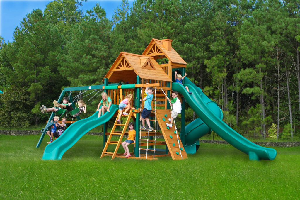Принцип создания детской площадки