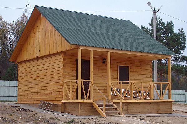 Рассмотрим, как построить баню из дерева своими руками