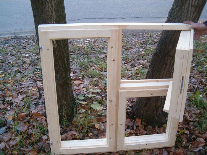 Главные шаги при установке деревянных окон своими руками