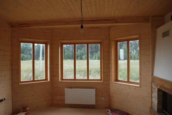 Помимо этого, деревянные окна делят на: