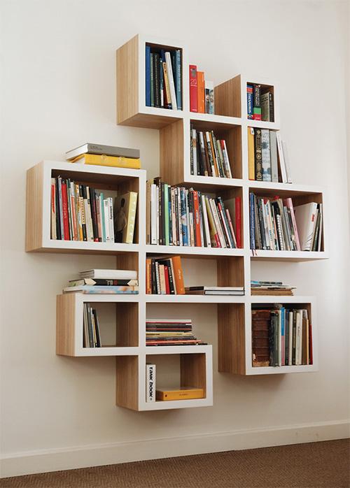 Из чего делают полки для книг