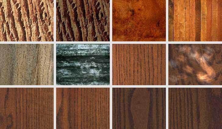 Популярные породы в древесине