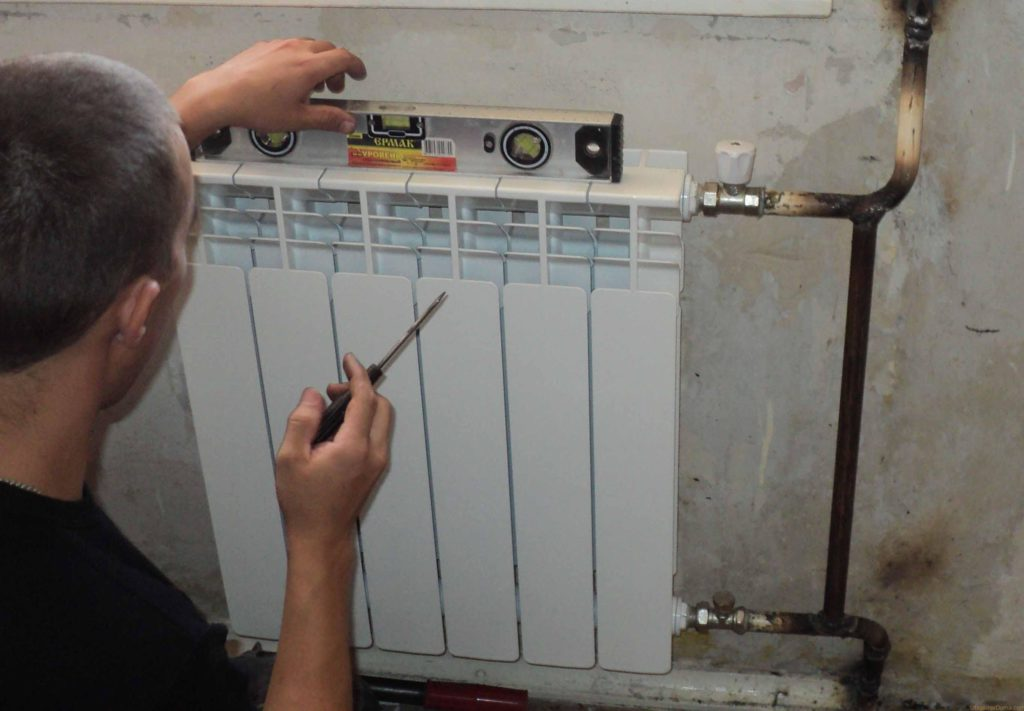 Как правильно устанавливать радиатор