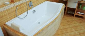 Ремонт акриловых ванн