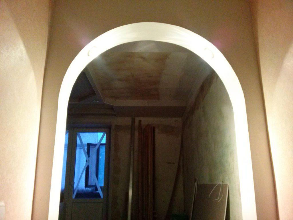 Эллипсовидные формы арок
