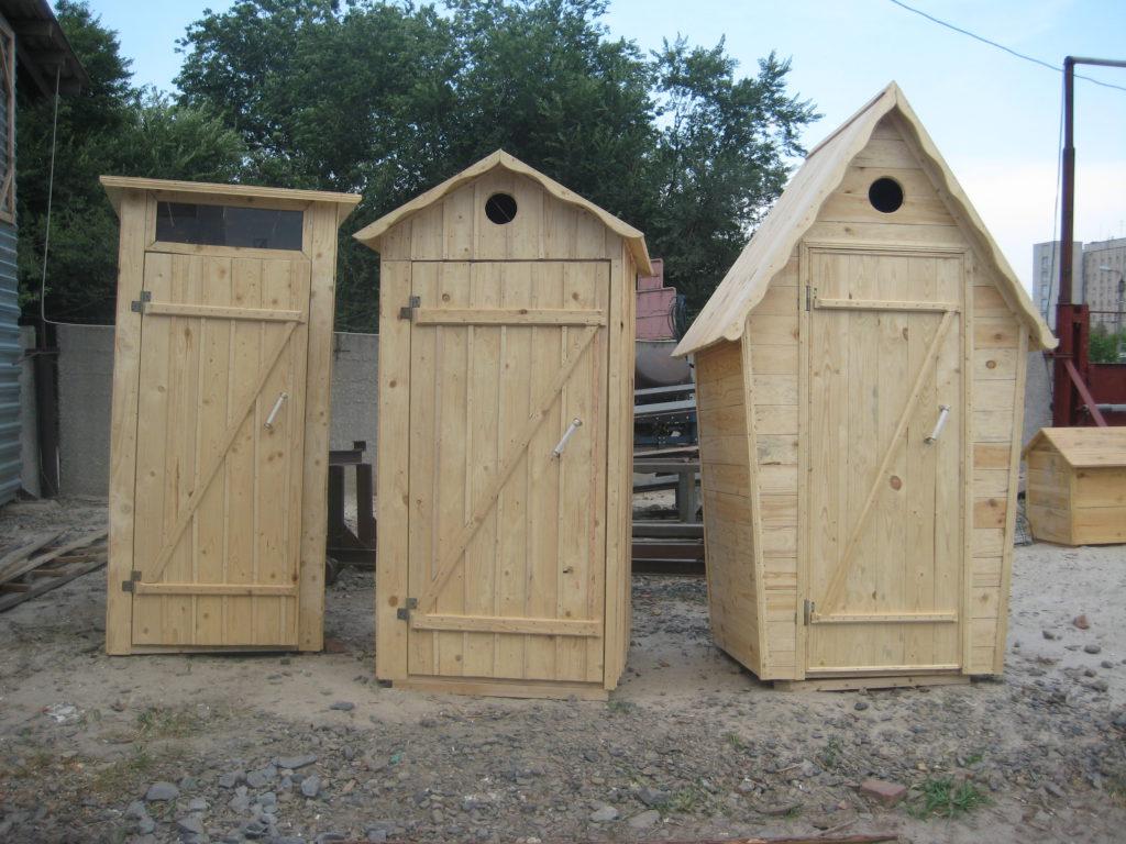 Варианты постройки туалетов