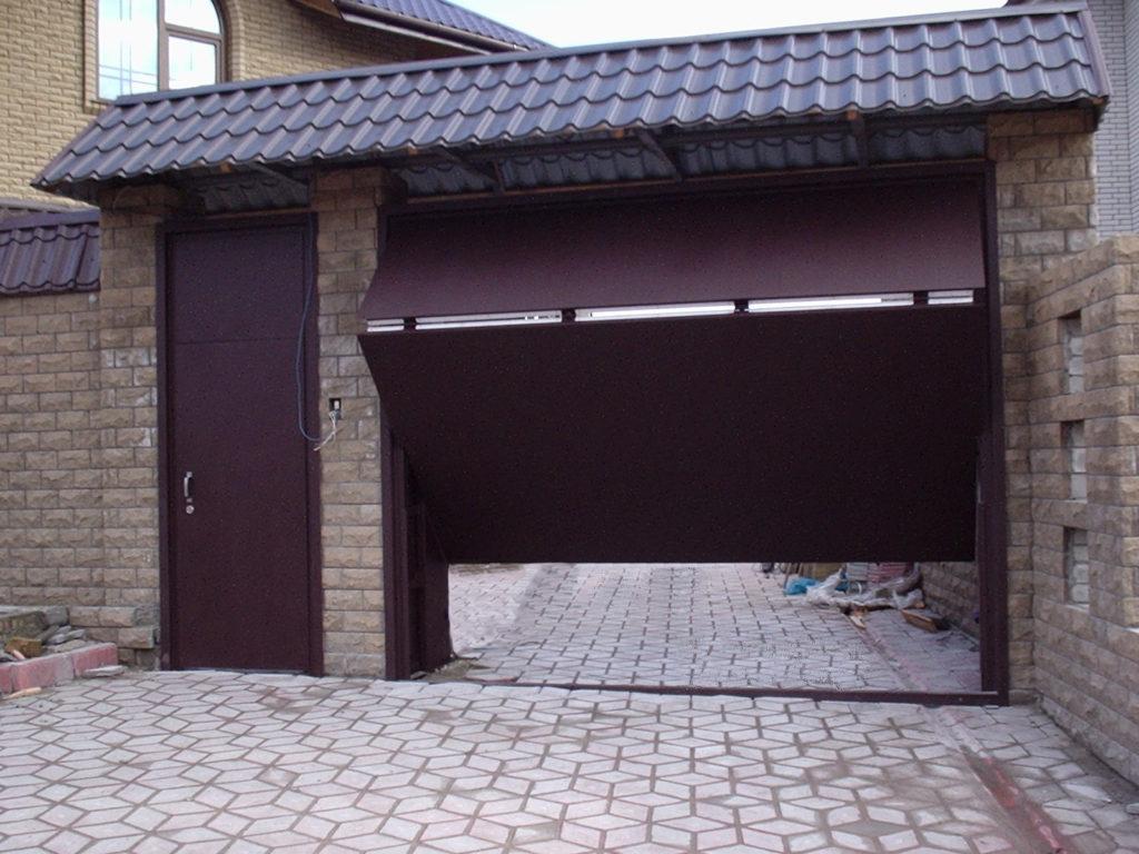 Автоматические ворота гаражного типа – общая информация