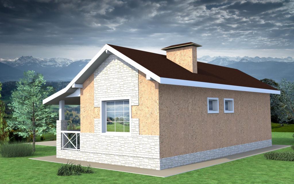 Дом из газоблоков проекты и цены