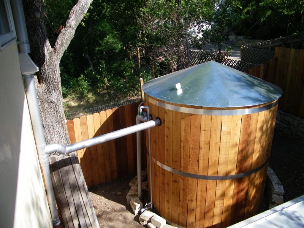 Условия хранения дождевой воды