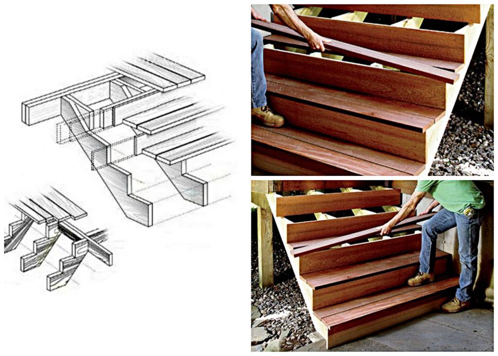 Сооружение деревянной конструкции