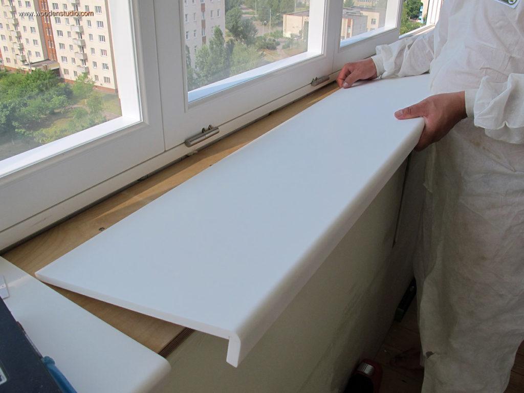Как заменить пластиковый подоконник своими руками фото 280