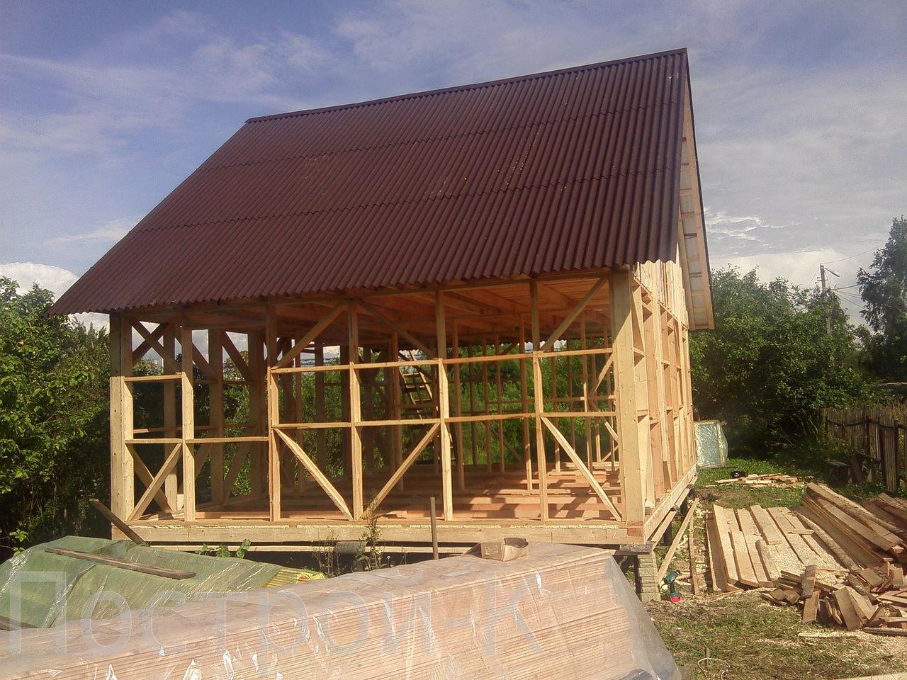 Поднять каркасный дом своими руками пошаговая инструкция фото 662