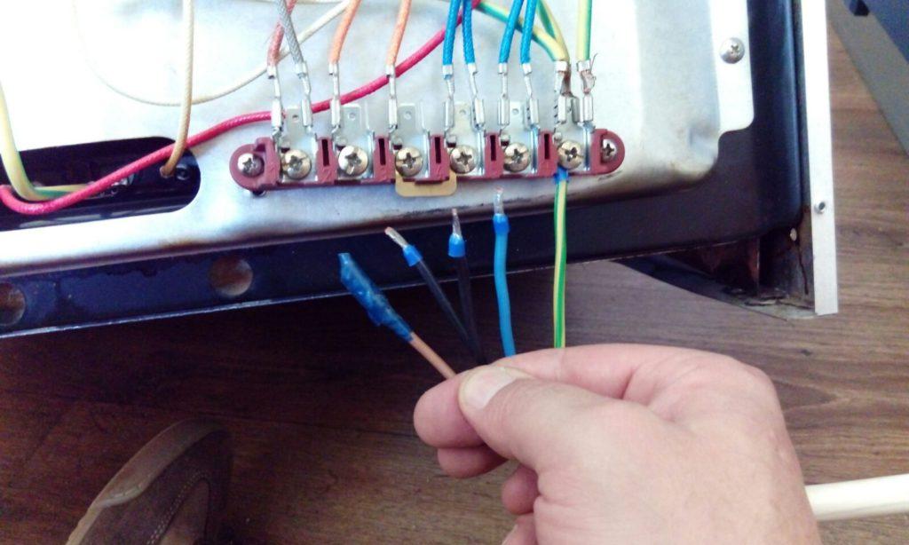 Подключение электроплиты своими руками к сети 220 В