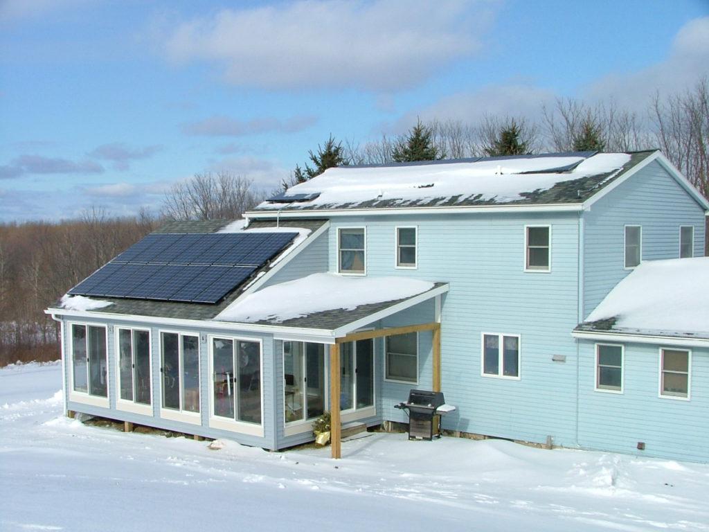 Эффективны ли солнечные батареи зимой
