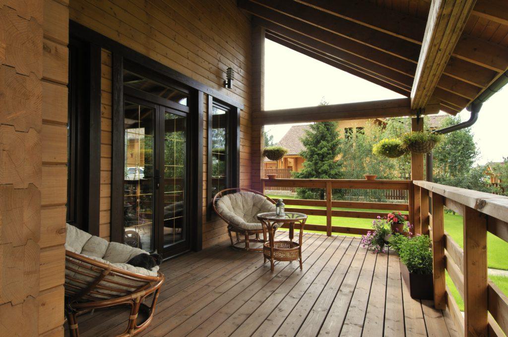 Терраса - отличное место для отдыха