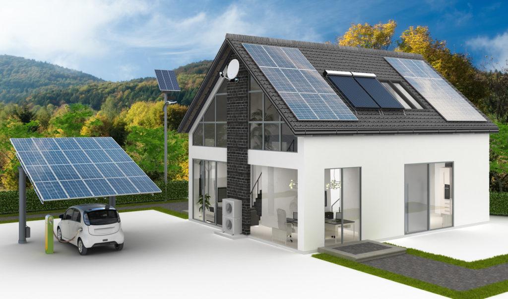 Солнечные батареи для частного дома цена