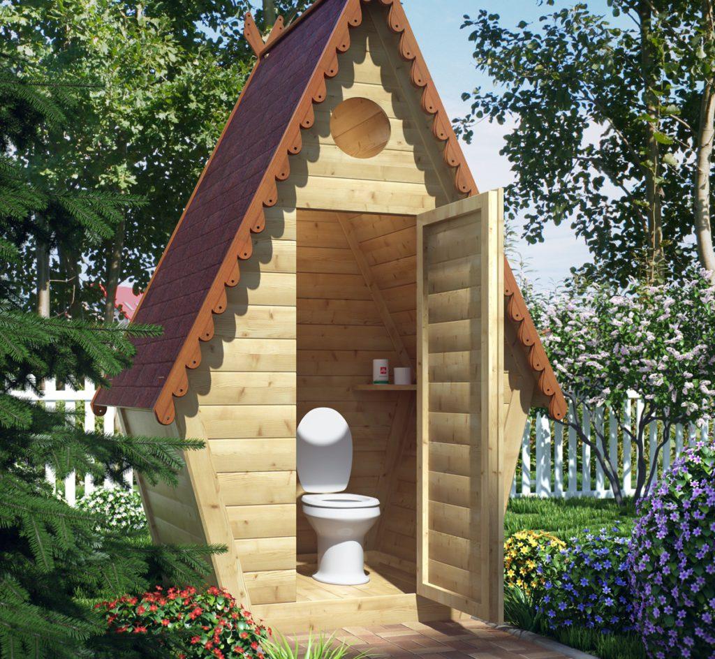 Чертёж дачного туалета своими руками фото 485