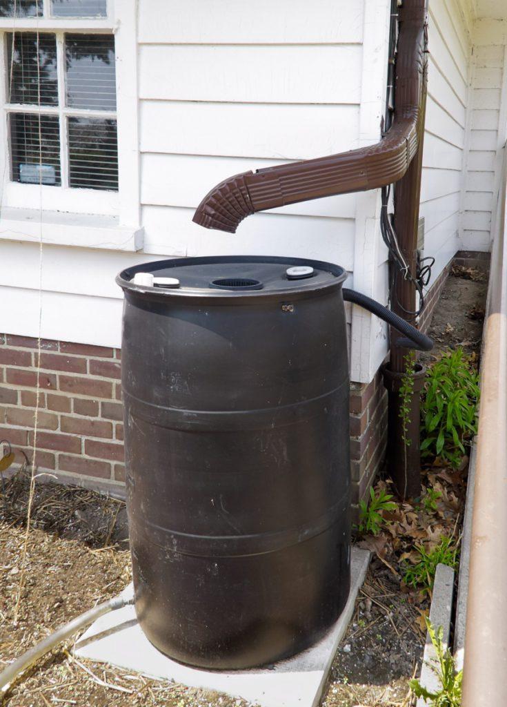 Система сбора дождевой воды в загородном доме