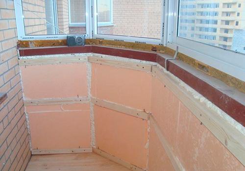 Самые ходовые материалы, для утепления балкона