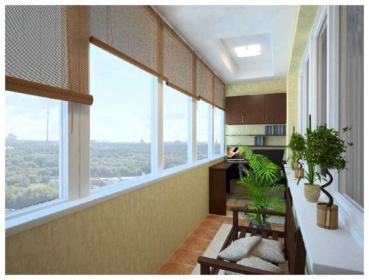 Чудесные превращения утеплённого балкона